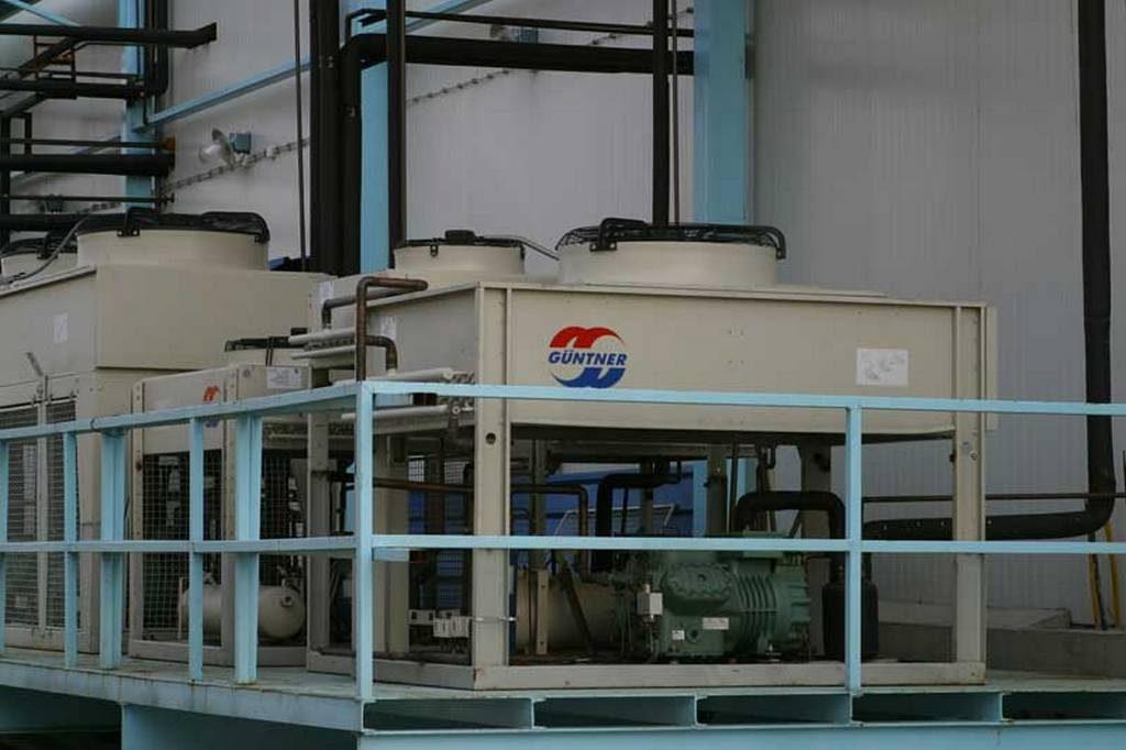 Unidad de  Condensadores para congelación